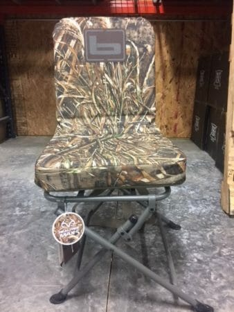 hunting blind chair in a store