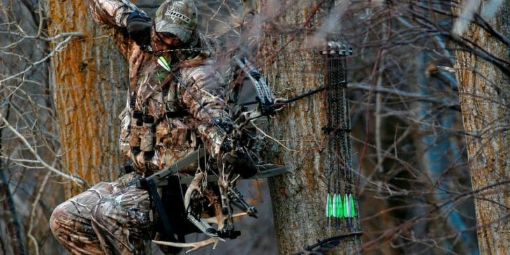 Best tree stand bow holder
